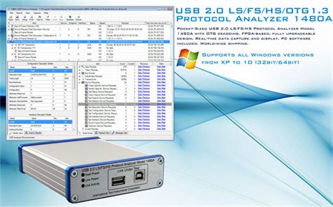 Picture of 1480A USB 2.0 Protocol Analyzer